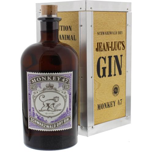 Gin Monkey 47 con cassa personalizzata