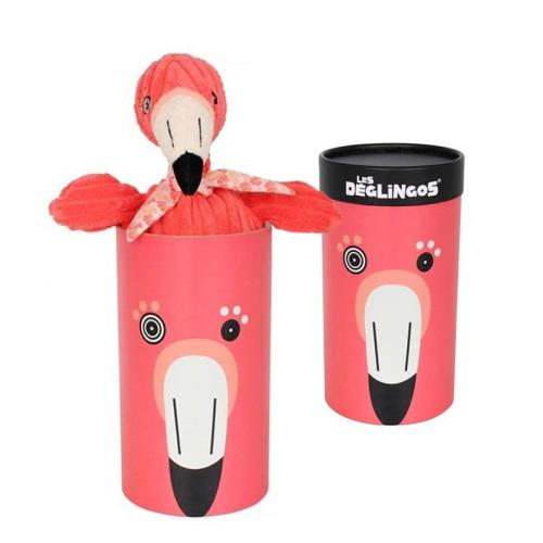 Peluche grande simply Flamingos fenicottero rosa scatola regalo