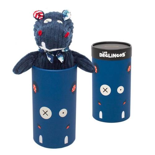 Peluche grande simply Hippipos ippopotamo confezione regalo