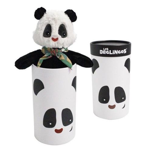 Peluche grande simply Rototos il panda con scatola