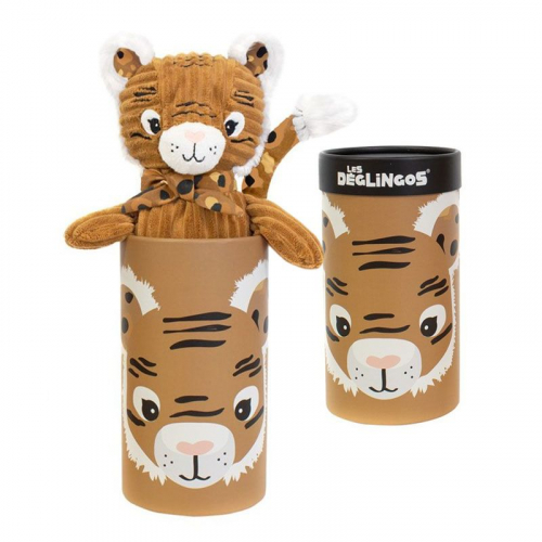 Peluche grande simply Speculos la tigre con scatola regalo