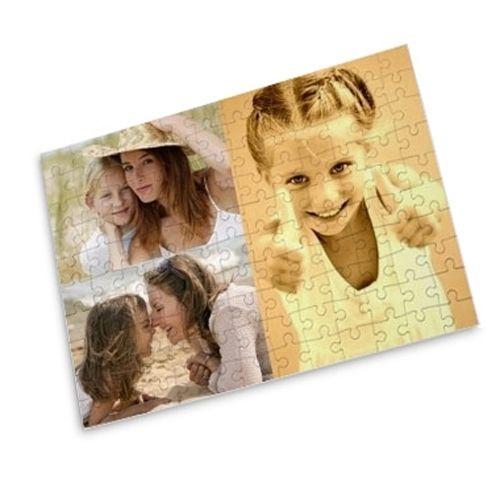 Puzzle grande formato collage foto personalizzabile