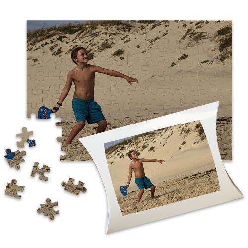 Puzzle personalizzato rettangolare