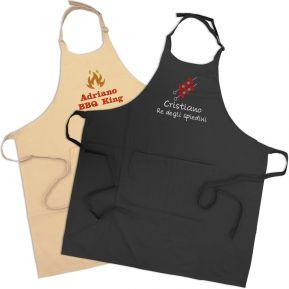 Grembiule barbecue personalizzato