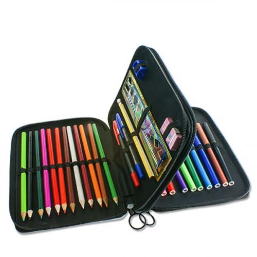 Interno astuccio grande matite e colori