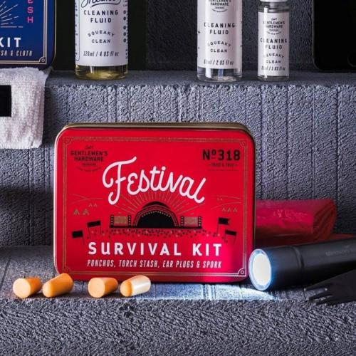 Kit di sopravvivenza festival Gentlemen's Hardware