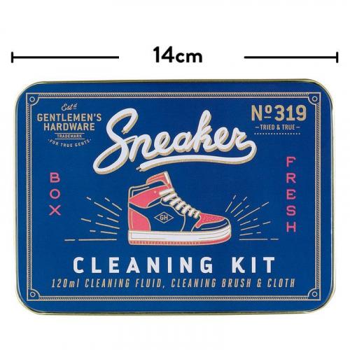 Kit pulizia sneakers Gentlemen's Hardware scatola