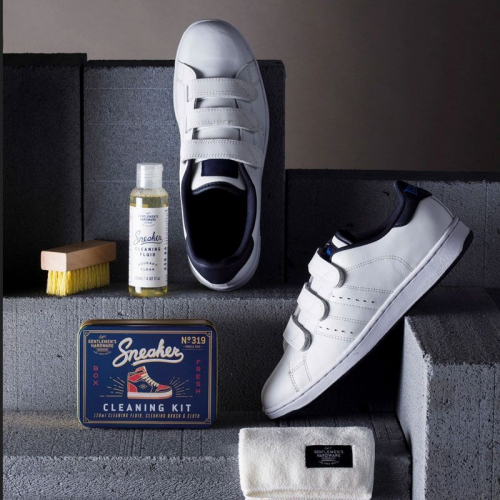Kit pulizia sneakers Gentlemen's Hardware uso