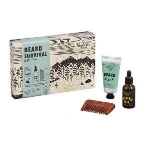 Kit di sopravvivenza per barba Gentlemen's Hardware