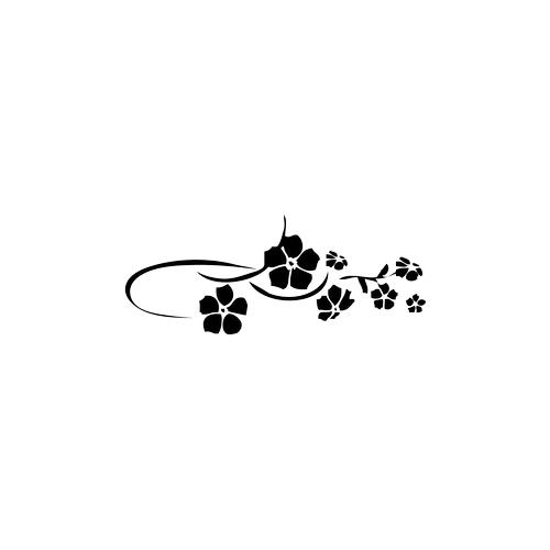 Sticker Fiore piccolo Liberty - c5