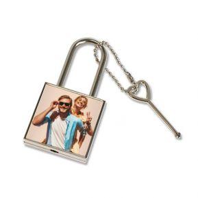 Lucchetto dell'amore personalizzato con foto
