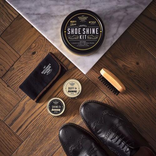 Lucida scarpe da viaggio Gentlemen's Hardware