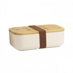 Lunch box in bambù personalizzata