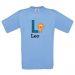 Tee-shirt animalfabeto personalizzata