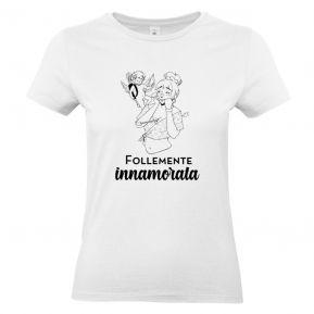 T-shirt donna personalizzata I Caratteri