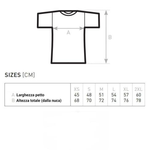 Guida taglie T-shirt marinière
