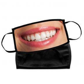 Mascherina in tessuto personalizzabile con foto