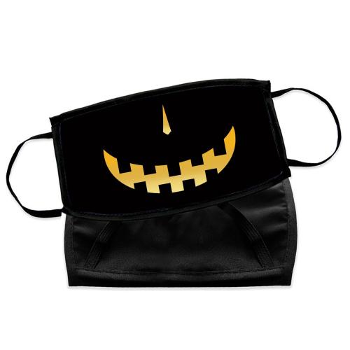 Mascherina Halloween zucca paurosa