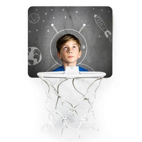 Mini canestro da basket personalizzato con foto