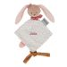 Mini doudou Pauline il coniglio personalizzato