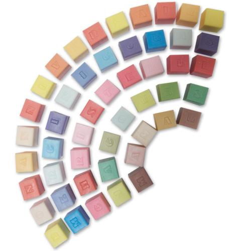 Mosaico saponette cubo