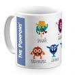 Tazza personalizzata My Monster Family