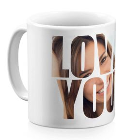 Mug Love You personalizzato
