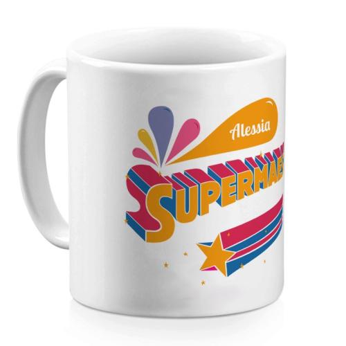 Mug personalizzato Super Maestra