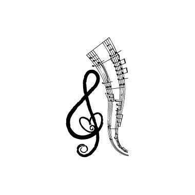 Stickers Musica 5