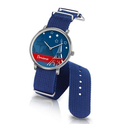 Orologio Nato Parigi personalizzato