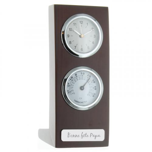 Orologio termometro personalizzato