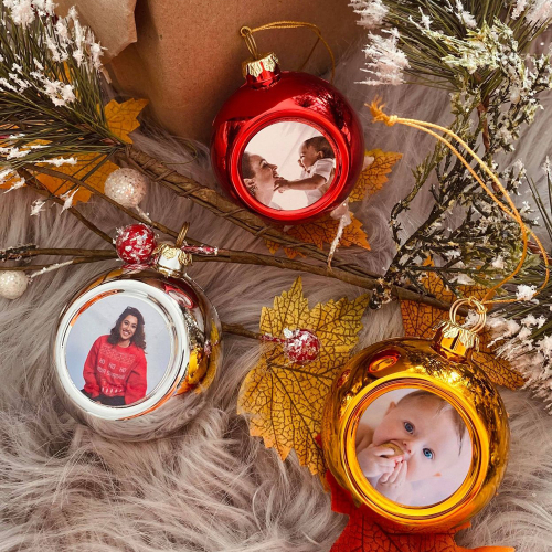 Palline di Natale personalizzate famiglia