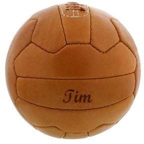 Pallone di cuoio personalizzato vintage