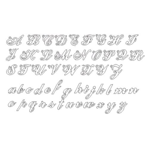 Stile scrittura per gioielli con nome