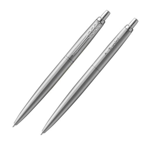 Penna parker personalizzata color argento