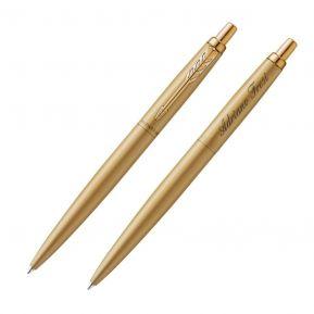 Penna a sfera Parker Jotter personalizzata color oro