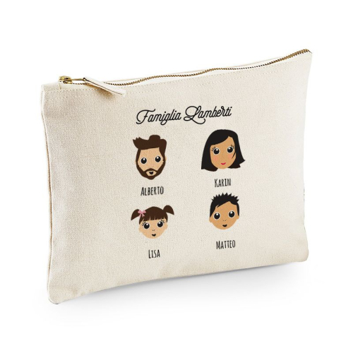 Pochette personalizzata We are family