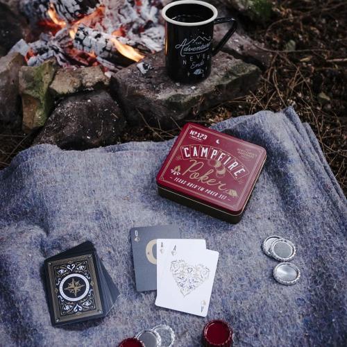 Set Poker da viaggio Gentlemen's Hardware - campeggio