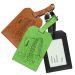 Portaetichette bagaglio in pelle personalizzato superpapà