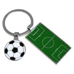 Portachiavi campo da calcio personalizzato