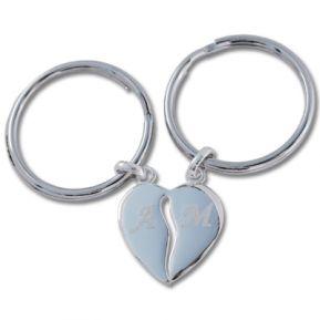 Portachiavi cuore divisibile san Valentino