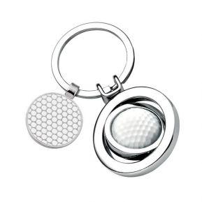 Portachiavi pallina da golf personalizzato