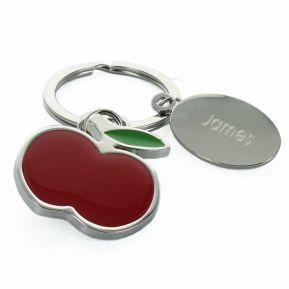 Portachiavi mela personalizzato