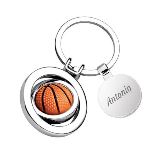 Portachiavi basket personalizzabile con nome