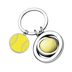 Portachiavi pallina da tennis inciso
