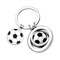 Portachiavi pallone da calcio inciso