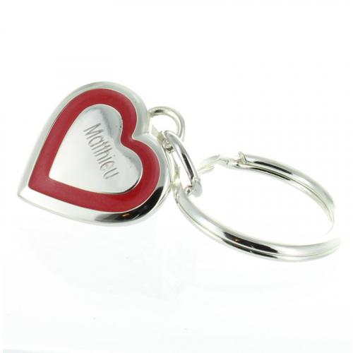 Portachiavi San Valentino inciso