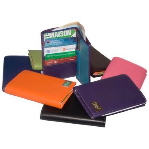 Portafogli personalizzato colorato