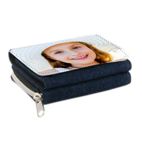 Portafogli personalizzabile foto jeans