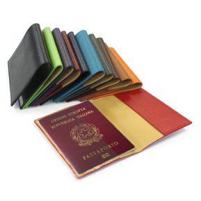 Portapassaporto personalizzato in pelle